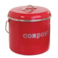 Compost Bin - Red