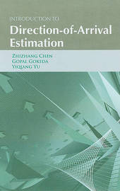Introduction to Direction-of-Arrival Estimation by Zhizhang Chen image