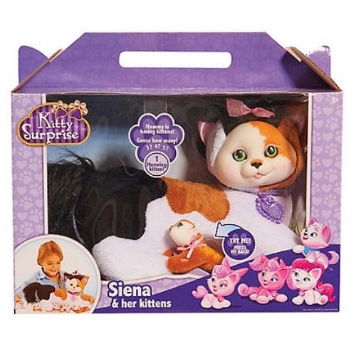 Kitty Surprise Plush - Siena