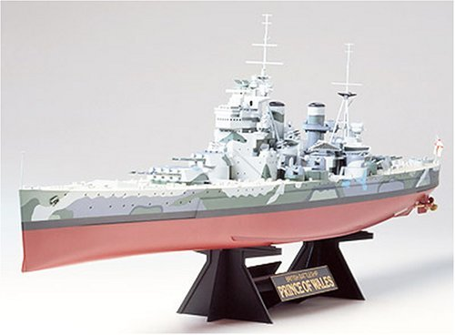 Tamiya 1/350 British Prince of Wales Battleship - Model Kit image