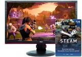 """24"""" AOC AGON FHD 144hz 1ms FreeSync Gaming Monitor"""