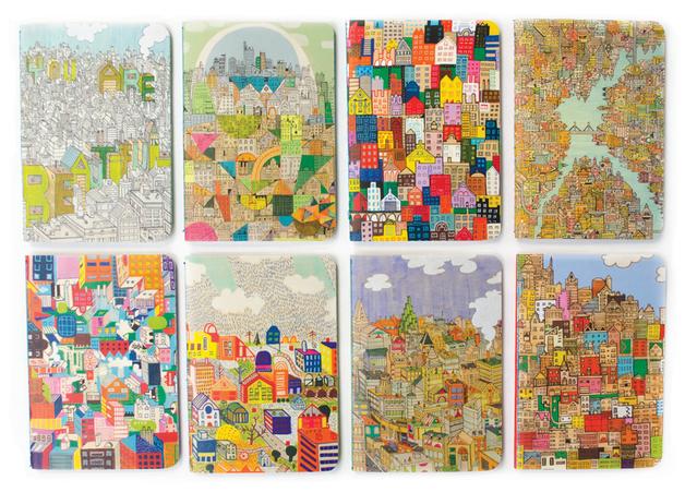 Urban Cities - Pocket Pal Journal Set