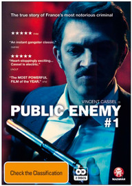 Public Enemy #1 on DVD
