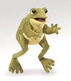 Folkmanis: Hand Puppet - Funny Frog