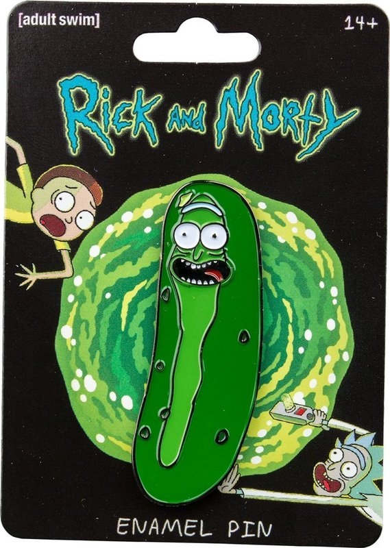 Rick & Morty - Pickle Rick Enamel Pin