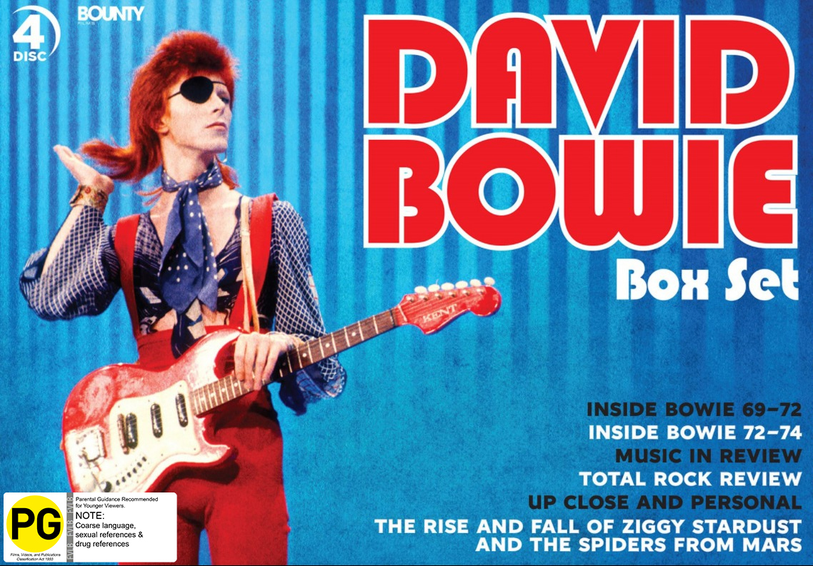 David Bowie - Box Set Collection on DVD image