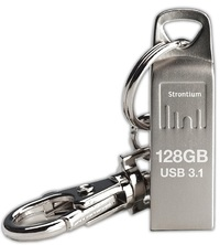 Strontium 128GB Ammo Metallic USB 3.1 Drive image