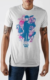 Mob Psycho: Anime Group - White T-Shirt (Small)