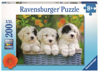 Ravensburger: 200 Piece Puzzle - Cuddly Puppies
