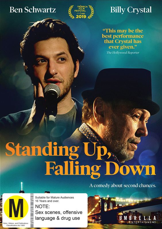 Standing Up, Falling Down on DVD