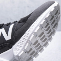 New Balance: Mens 574 Running Shoes - Black (Size US 9.5)