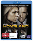 Homeland - The Complete 2nd Season on Blu-ray