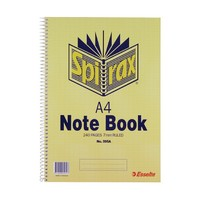 Spirax 595A Side Opening Notebook A4