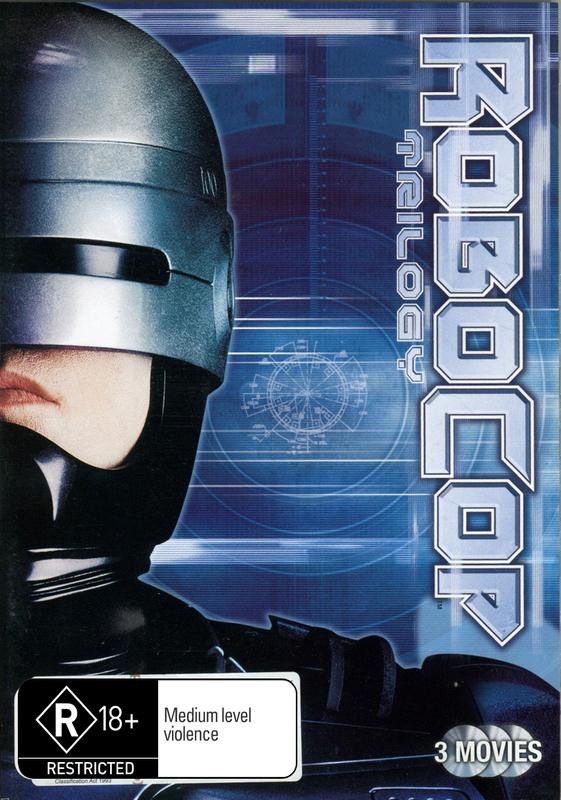 Robocop / Robocop 2 / Robocop 3 (3 Disc Set) on DVD