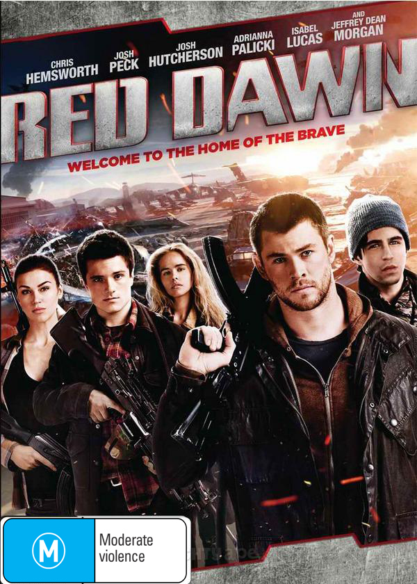 Red Dawn on DVD image