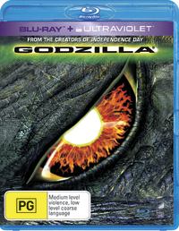 Godzilla on Blu-ray, UV image