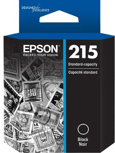 Epson Workforce Ink Cartridge 215 (Black)