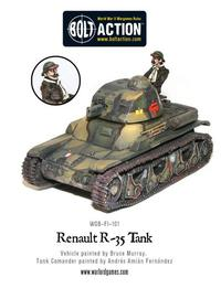 French Army: Renault R-35 Tank