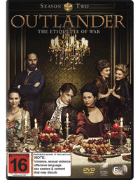 Outlander - The Complete Second Season DVD