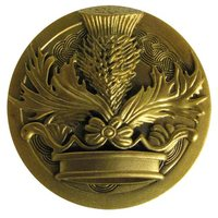Outlander Crown & Thistle - Sculpted Pin