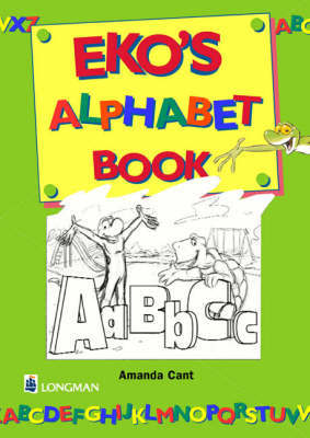Eko and Tina Alphabet Greek Book Greek Book by Amanda Cant image