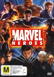 Marvel Heroes (6 Disc Box Set) on DVD image
