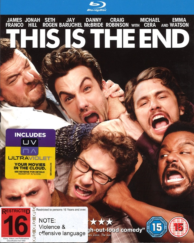 This Is The End on Blu-ray