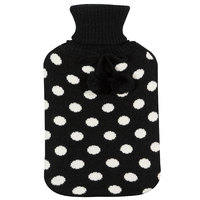 Wicked Sista: Hot Water Bottle & Cover - Polka Dots
