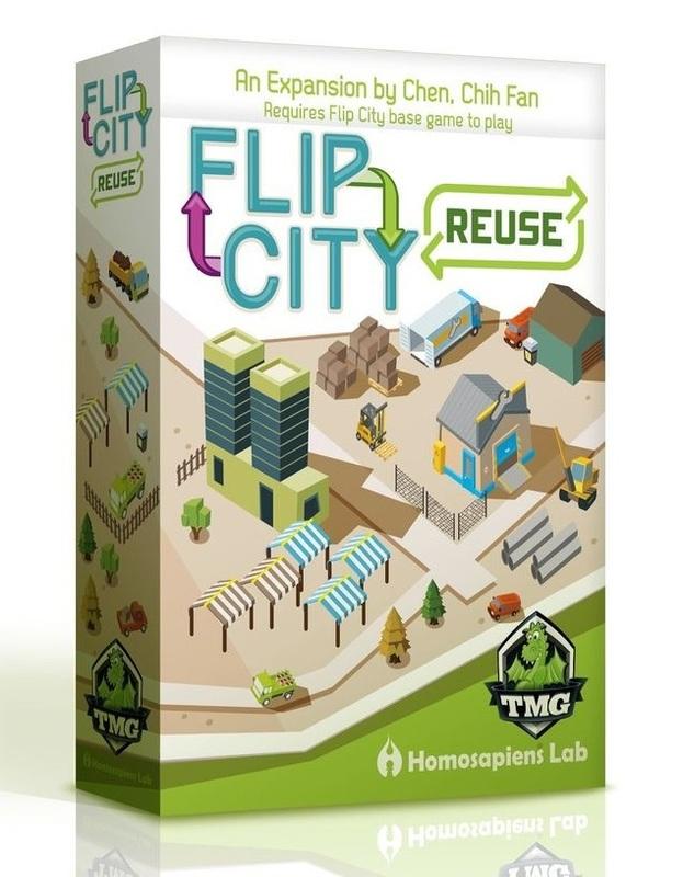 Flip City: Reuse - Expansion