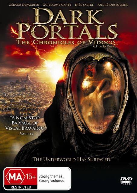 Dark Portals - The Chronicles Of Vidocq on DVD