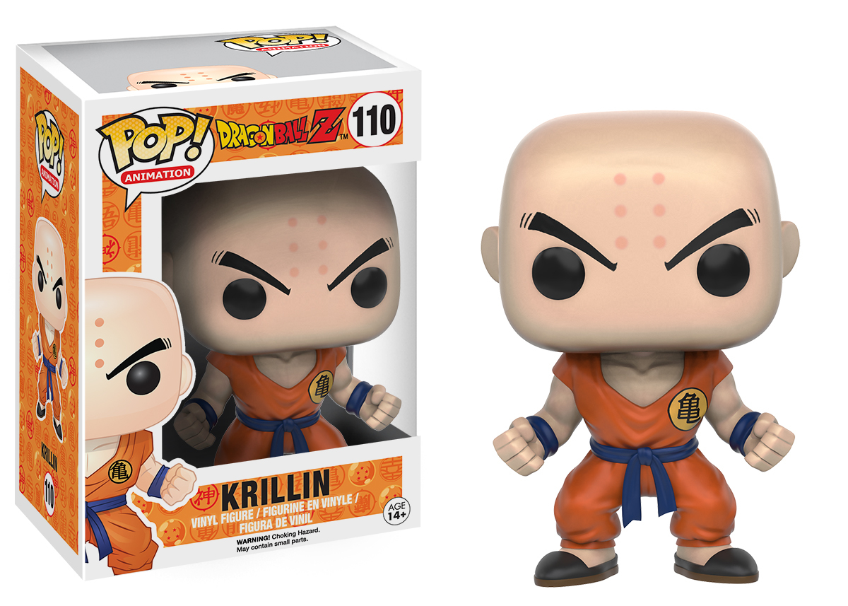 Dragon Ball - Krillin Pop! Vinyl Figure image