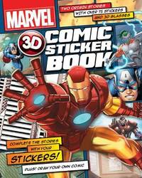 Marvel Heroes 3D Comic Sticker Book