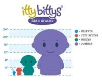 """itty bittys: Dory - 4"""" Plush image"""