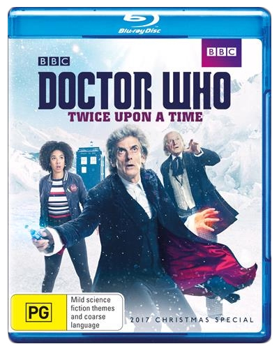 Doctor Who: Twice Upon a Time on Blu-ray
