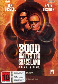 3000 Miles to Graceland on DVD image