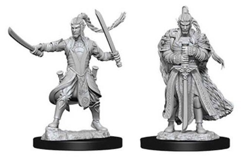 D&D Nolzur's Marvelous: Unpainted Miniatures - Male Elf Paladin