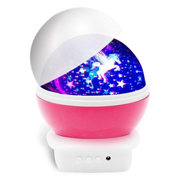 Unicorn Night Lamp - Pink
