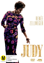 Judy on DVD image