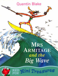 Mrs.Armitage and the Big Wave by Quentin Blake image