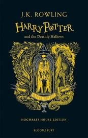 Harry Potter and the Deathly Hallows - Hufflepuff Edition by J.K. Rowling