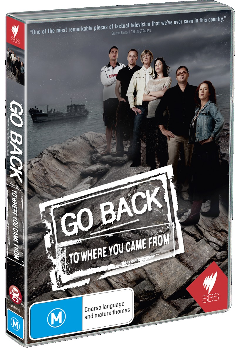 go back to where you came Hsc english: go back to where you came from iv 978 1 4586 5072 6 sbs's documentary series go back to where you came from discussed with relation to sujata bhatt's poem 'the one who goes away.