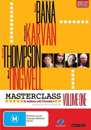 Masterclass: An Audience with Filmmakers Vol 1 on DVD