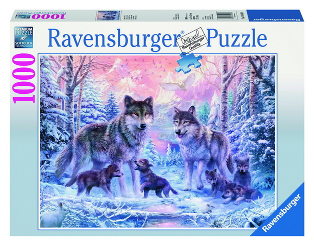 Ravensburger Arctic Wolves Puzzle (1000pc)