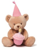 Gund - Happy Birthday Talking Bear - Pink