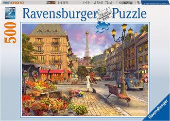 Ravensburger - A Walk Through Paris Puzzle (500pc)