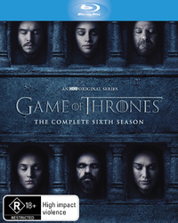 Game of Thrones - The Complete Season Six on Blu-ray image