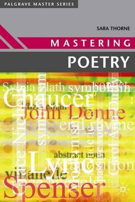 Mastering Poetry by Sara Thorne image