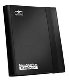 Ultimate Guard: 9-Pocket Mini-American FlexXfolio (Black)