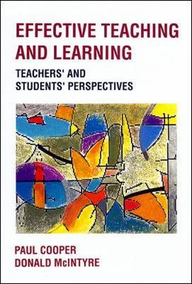 EFFECTIVE TEACHING AND LEARNING by Paul Cooper image