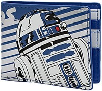 Star Wars: R2-D2 - Blue Striped Bifold Wallet